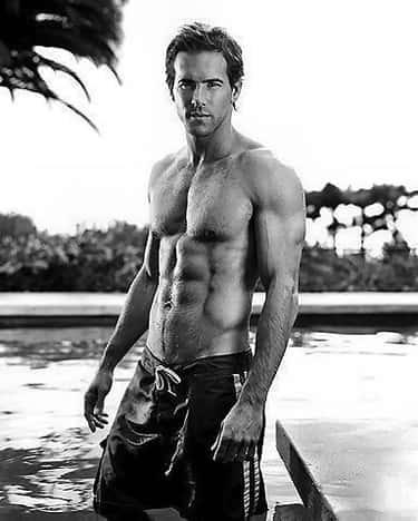 Ryan Reynolds in Hawaiian Swim Short