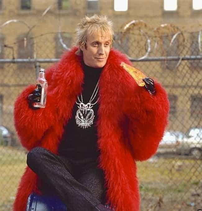 Rhys Ifans in Red Fur Cape is listed (or ranked) 1 on the list Hot Rhys Ifans Photos