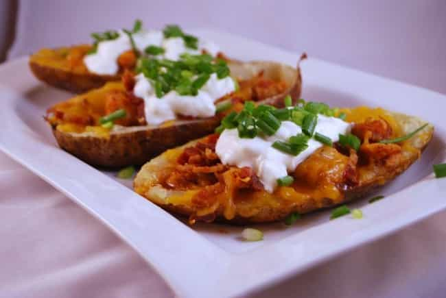 Cheese and Bacon Potato ... is listed (or ranked) 3 on the list Bennigan's Recipes