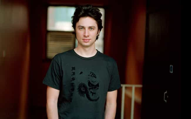 Zach Braff in Dragon Print Shi... is listed (or ranked) 3 on the list Hot Zach Braff Photos