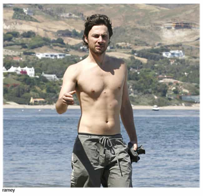 Zach Braff in Beach Gathered S... is listed (or ranked) 1 on the list Hot Zach Braff Photos