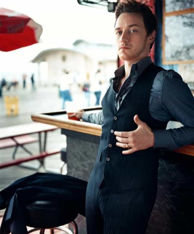 James McAvoy in Stripes Waistc... is listed (or ranked) 2 on the list Hot James McAvoy Photos