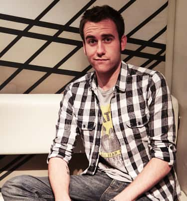 Matthew Lewis in Black and White Checkered Polo
