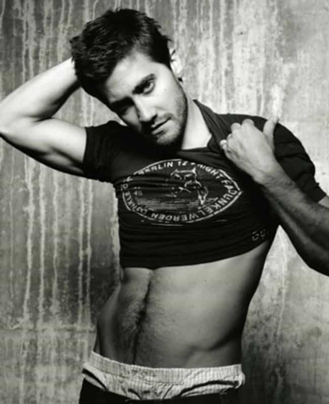 Jake Gyllenhaal in Printed Cro... is listed (or ranked) 4 on the list Hot Jake Gyllenhaal Photos