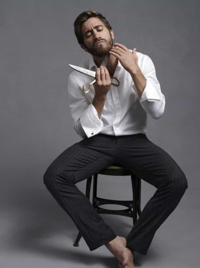 Jake Gyllenhaal in Long Sleeve... is listed (or ranked) 4 on the list Hot Jake Gyllenhaal Photos