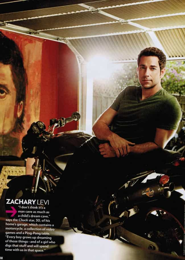 Zachary Levi in Green V-... is listed (or ranked) 3 on the list Hot Zachary Levi Photos