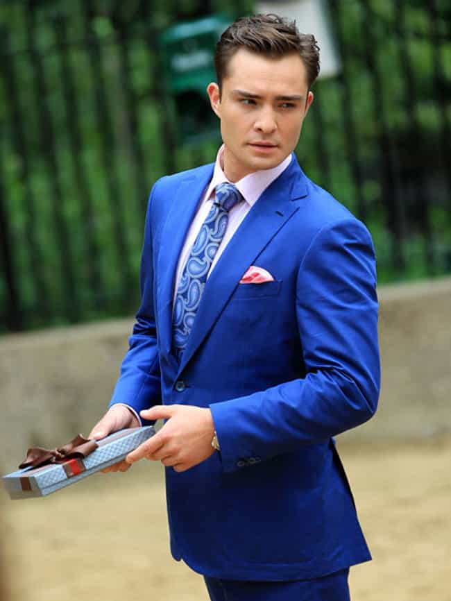 Ed Westwick in Neon Blue Notch... is listed (or ranked) 2 on the list Hot Ed Westwick Photos