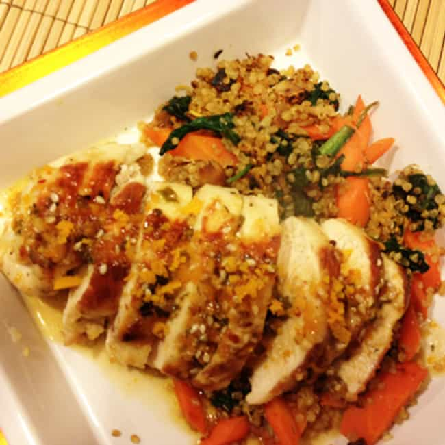 Sesame-Teriyaki Chicken ... is listed (or ranked) 1 on the list The Best Black Angus Steakhouse Recipes