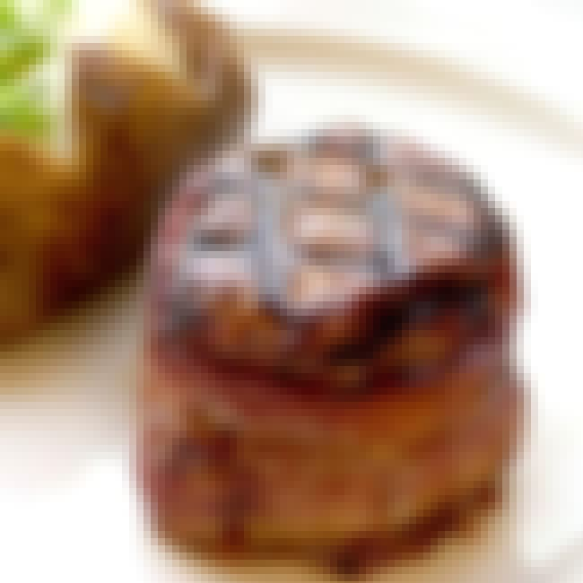 Bacon-Wrapped Filet Mignon is listed (or ranked) 6 on the list The Best Black Angus Steakhouse Recipes