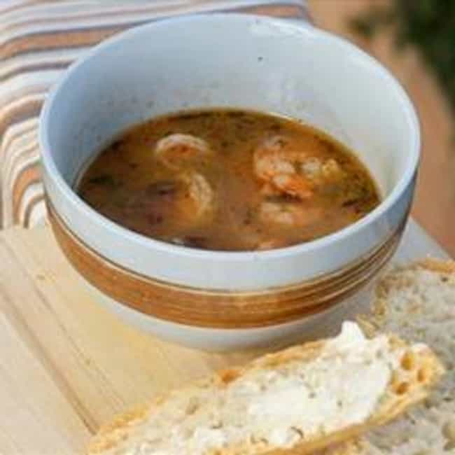Shrimpin' Dippin' Broth ... is listed (or ranked) 2 on the list Bubba Gump Shrimp Company Recipes