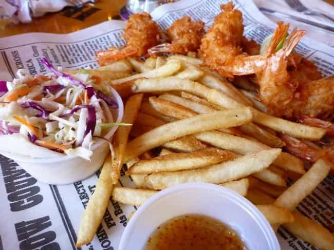 Dumb Luck Coconut Shrimp is listed (or ranked) 3 on the list Bubba Gump Shrimp Company Recipes