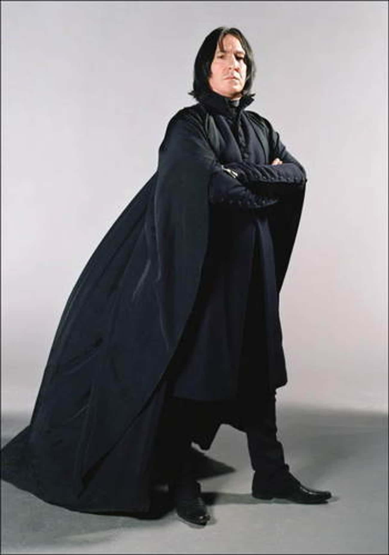 Alan Rickman in Mr. Snape Outf is listed (or ranked) 2 on the list Hot Alan Rickman Photos
