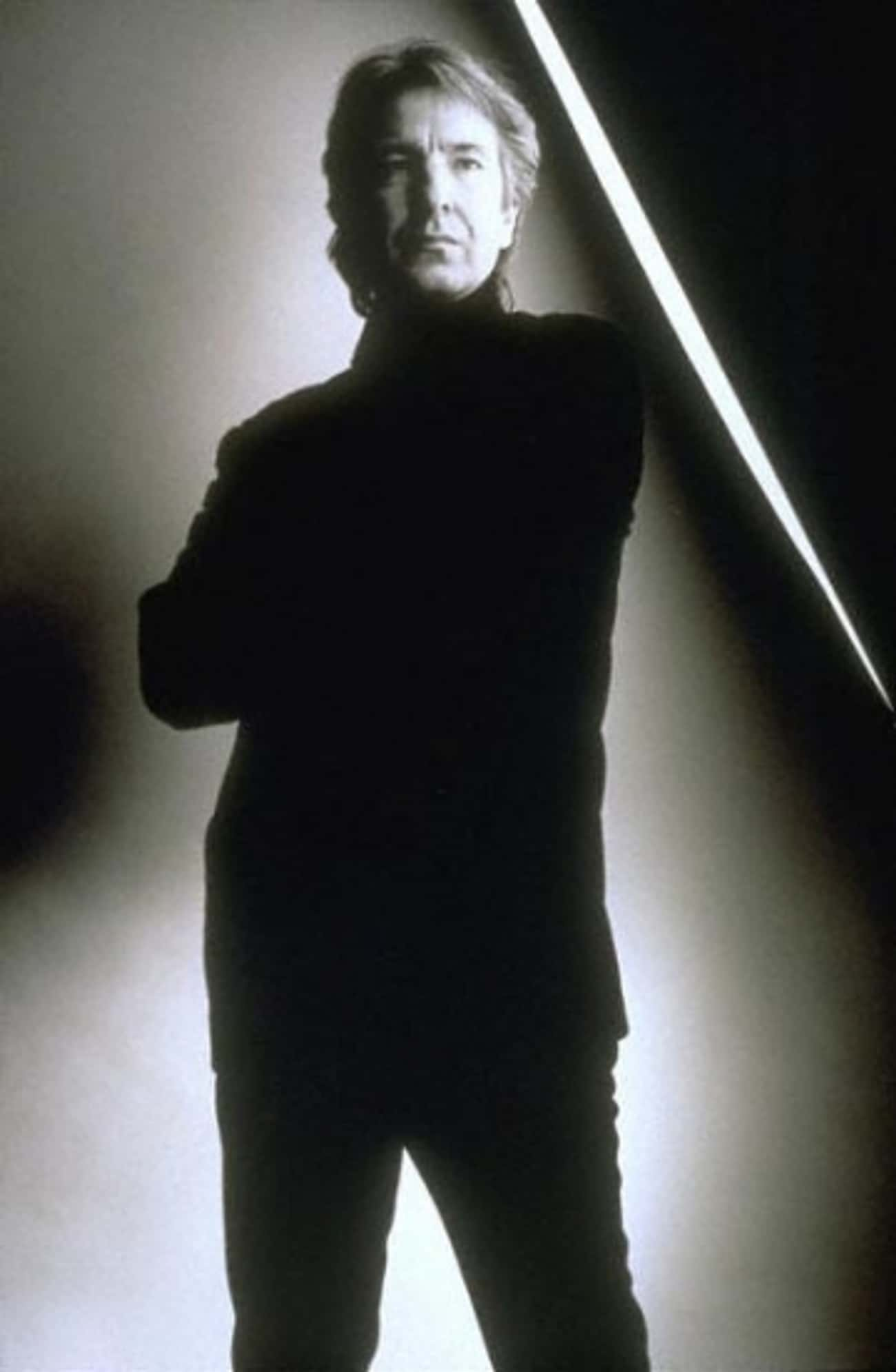 Alan Rickman in Turtle Neck Sw is listed (or ranked) 3 on the list Hot Alan Rickman Photos