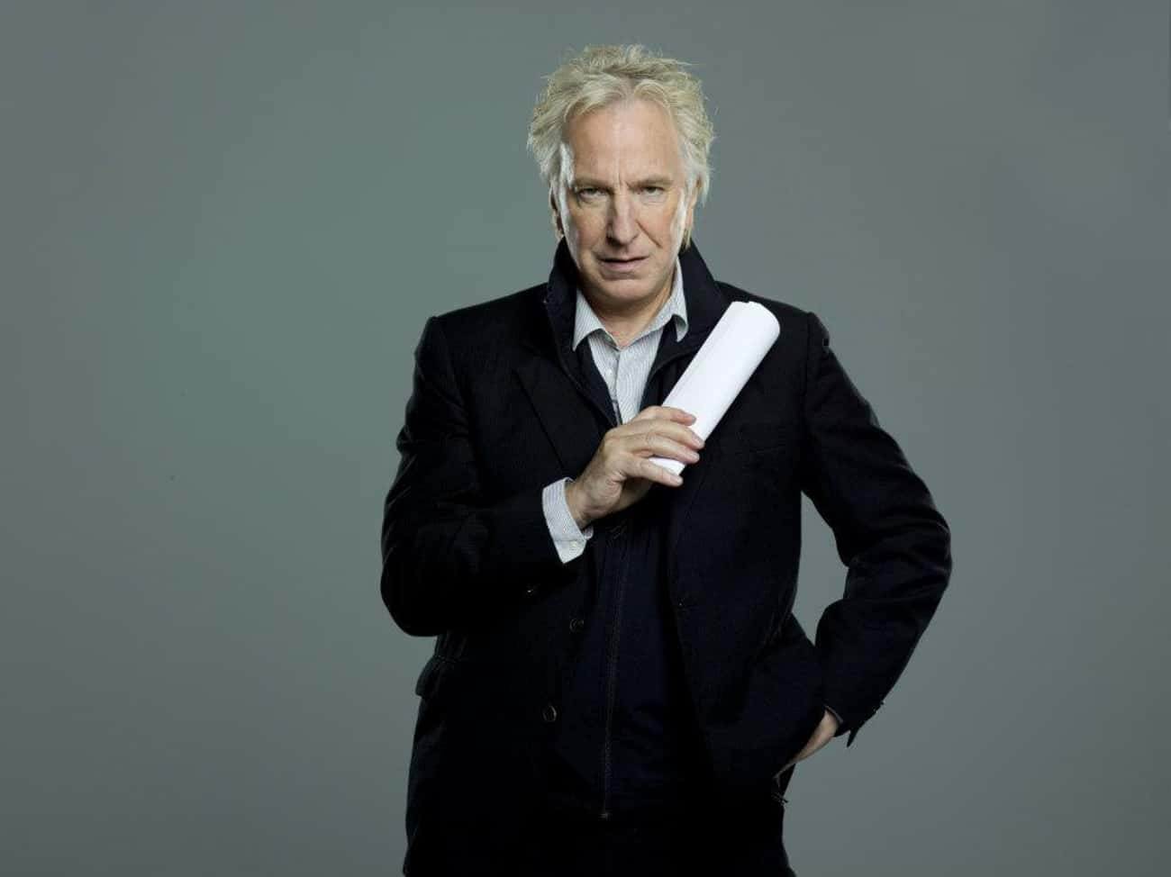 Alan Rickman in Vito Blazer wi is listed (or ranked) 4 on the list Hot Alan Rickman Photos