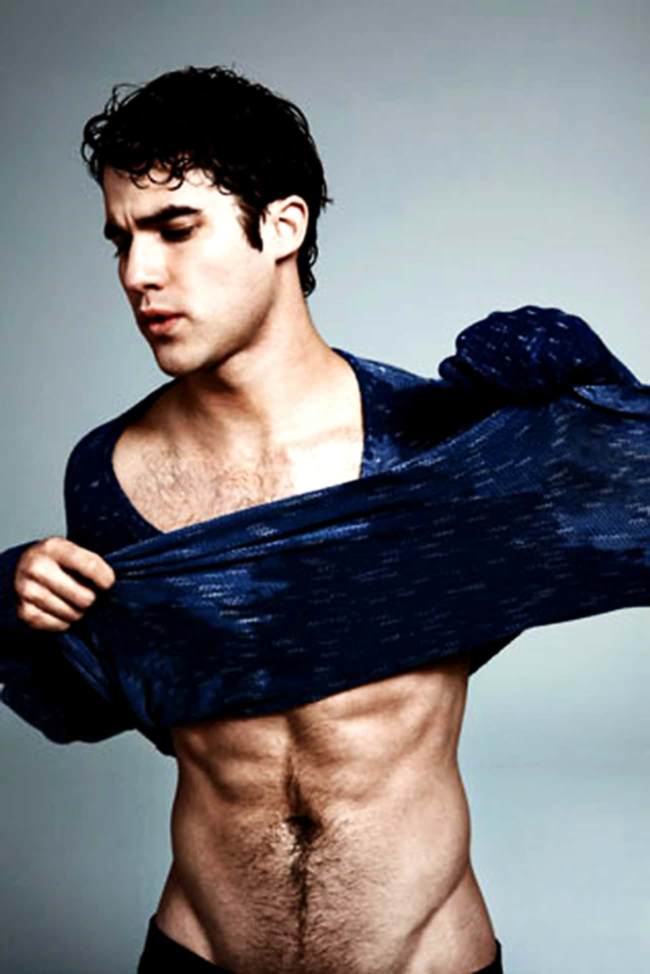 Darren Criss in Slubby Fabric  is listed (or ranked) 1 on the list Hot Darren Criss Photos