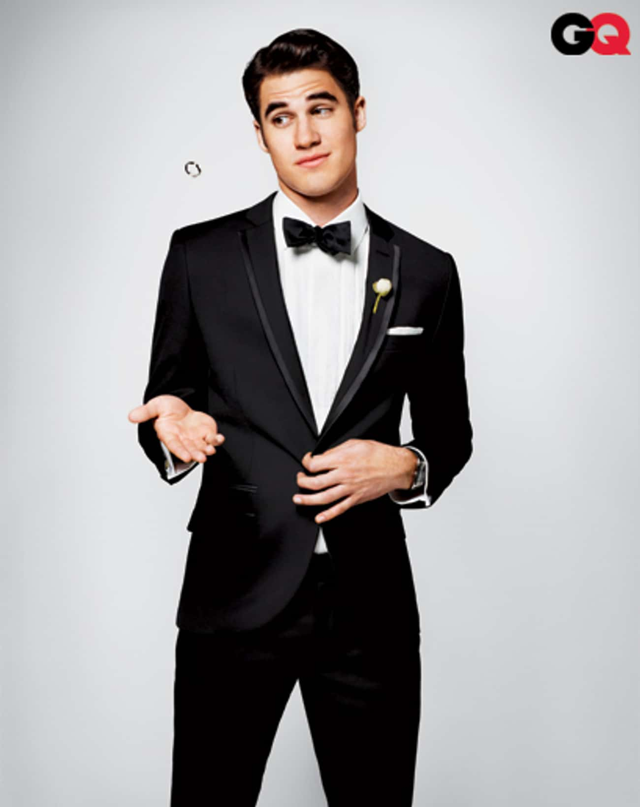 Darren Criss in Slim Fit Tuxed is listed (or ranked) 3 on the list Hot Darren Criss Photos
