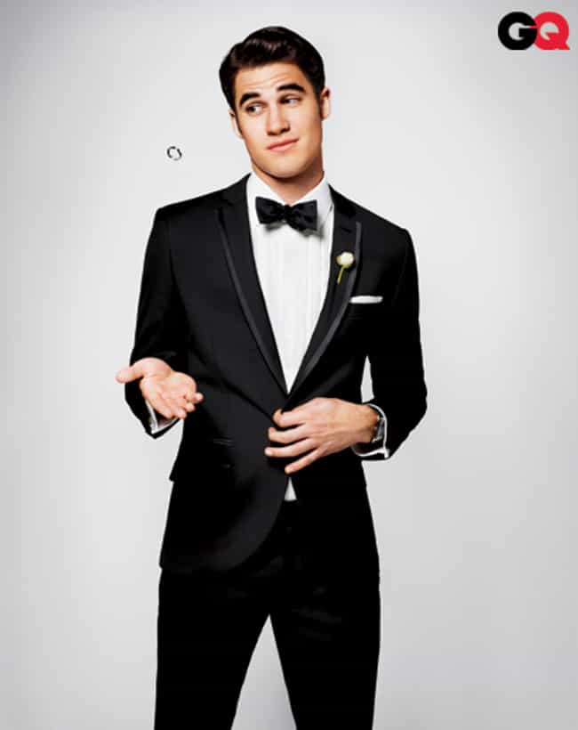 Darren Criss in Slim Fit Tuxed... is listed (or ranked) 3 on the list Hot Darren Criss Photos