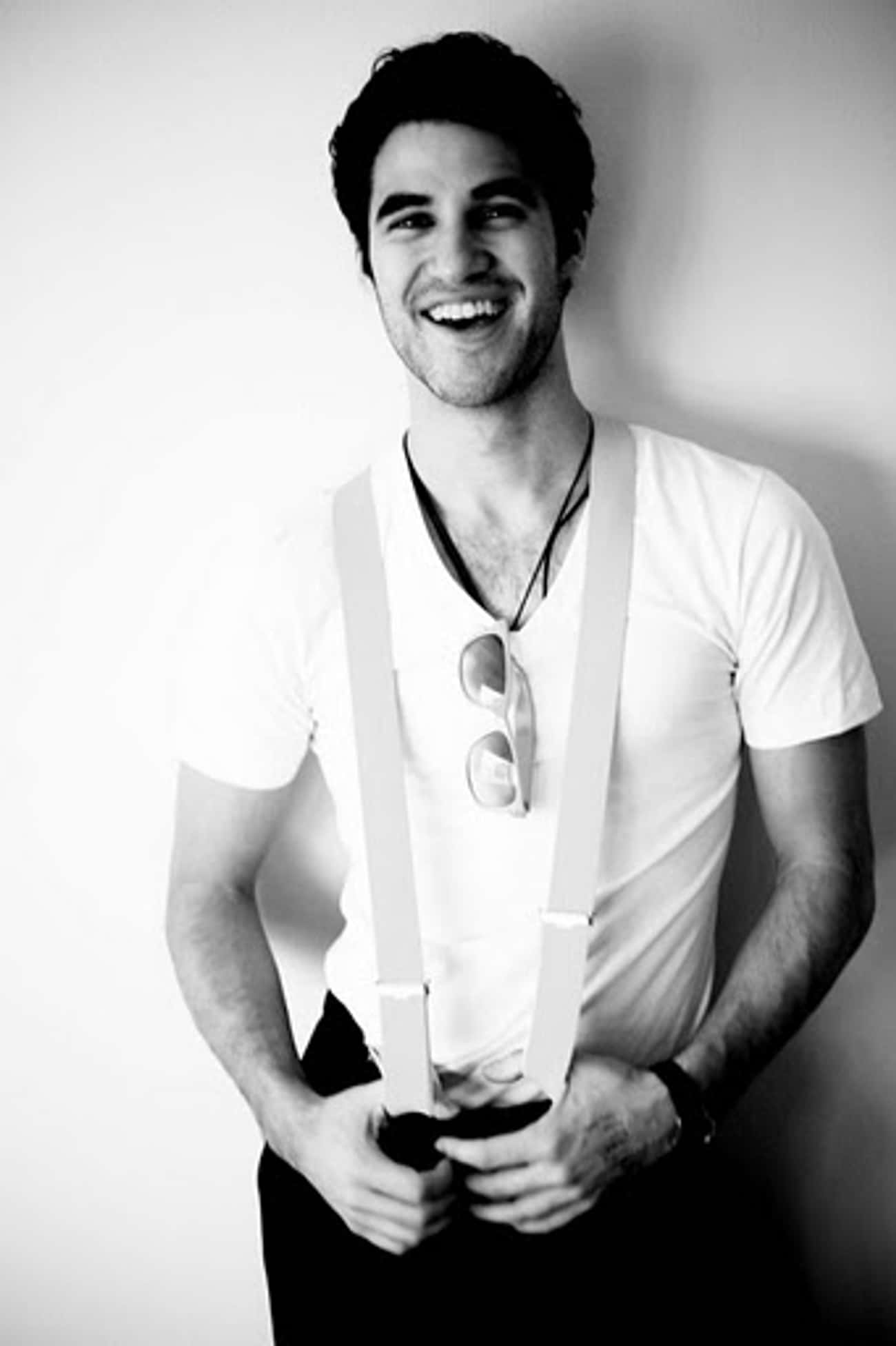Darren Criss in V-Neck T-Shirt is listed (or ranked) 4 on the list Hot Darren Criss Photos