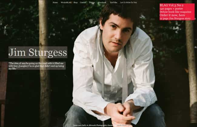 Jim Sturgess in Ruffle Front L... is listed (or ranked) 3 on the list Hot Jim Sturgess Photos