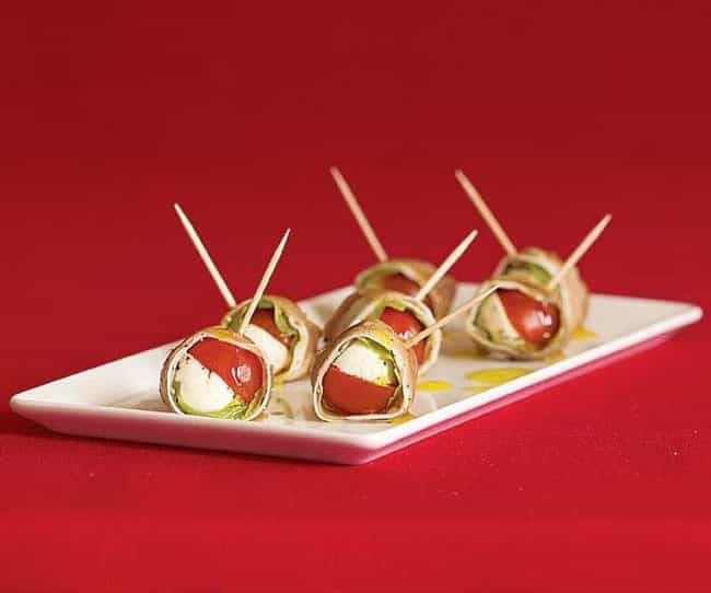 Prosciutto-wrapped Mozza... is listed (or ranked) 6 on the list Capital Grille Recipes