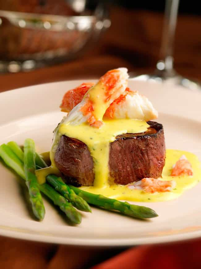 Filet Oscar is listed (or ranked) 1 on the list Capital Grille Recipes