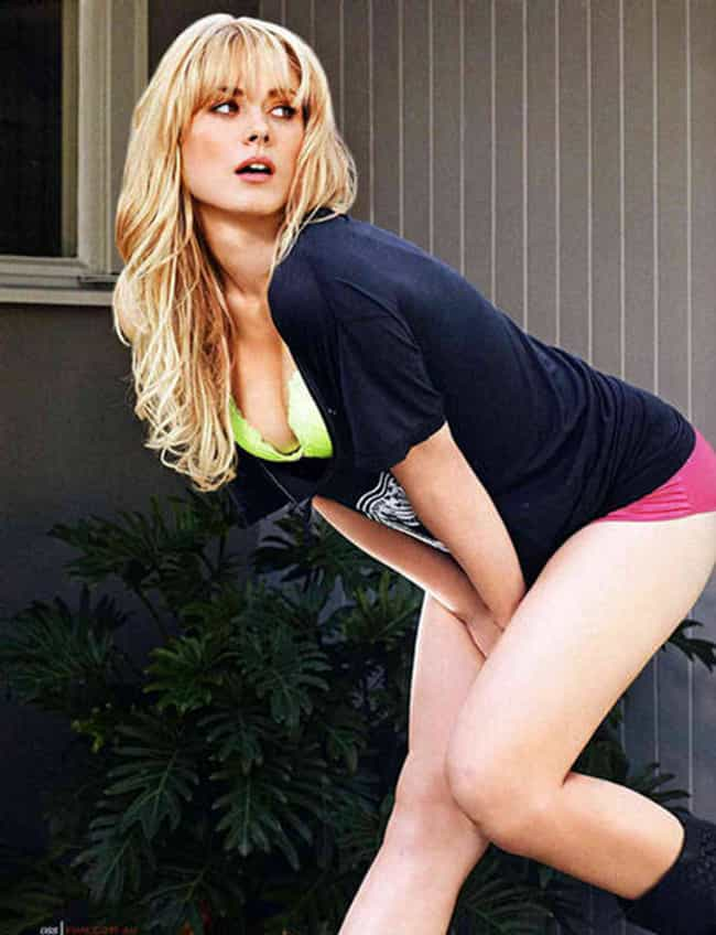 Alexandra Breckenridge in Cowl... is listed (or ranked) 1 on the list Hottest Alexandra Breckenridge Photos