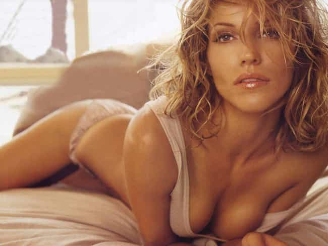 Tricia Helfer in Tank Top with... is listed (or ranked) 2 on the list Hottest Tricia Helfer Photos