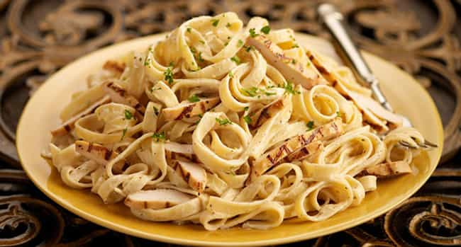Chicken Fettuccine is listed (or ranked) 4 on the list Carino's Italian Recipes