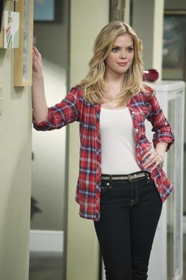 Dreama Walker in Checkered Lon... is listed (or ranked) 2 on the list The Most Stunning Dreama Walker Photos