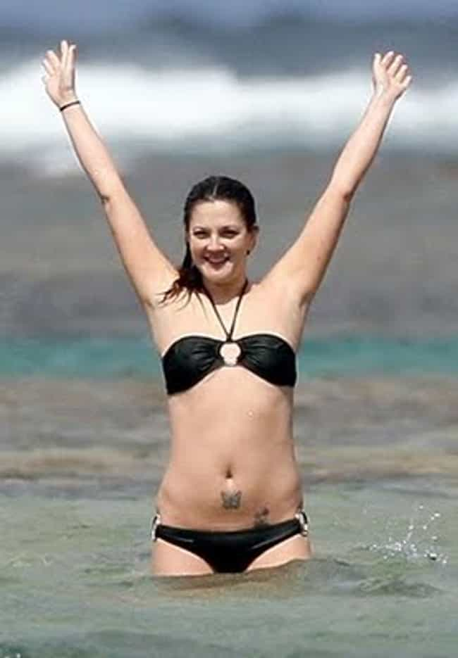 Butterfly Is Listed Or Ranked 3 On The List Drew Barrymore Tattoos