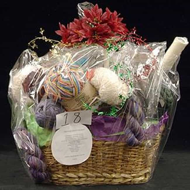 Crafting Themed Basket