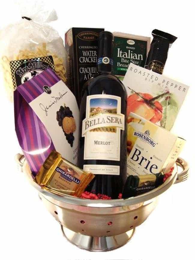 Italian Night Themed Basket