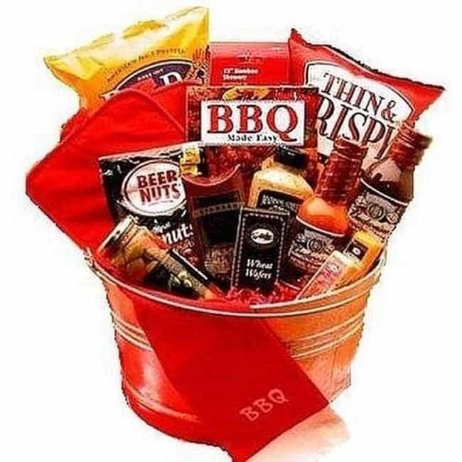 bbq themed basket