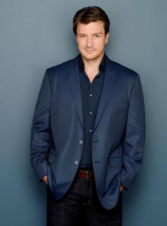 Nathan Fillion in Navy S... is listed (or ranked) 1 on the list Hot Nathan Fillion Photos