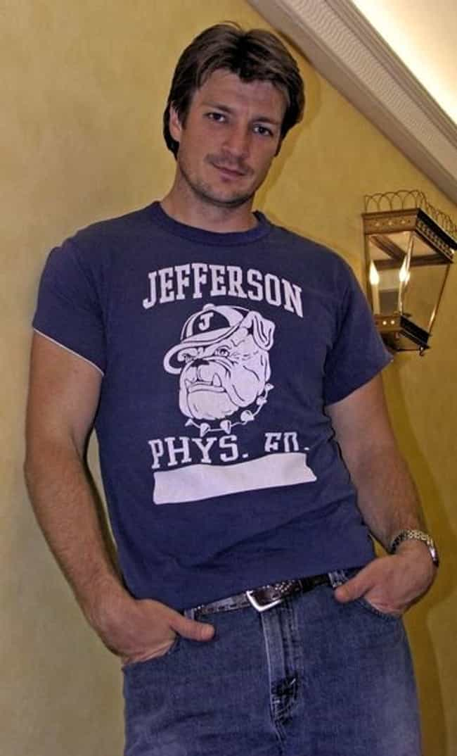 Nathan Fillion in Jeffer... is listed (or ranked) 4 on the list Hot Nathan Fillion Photos