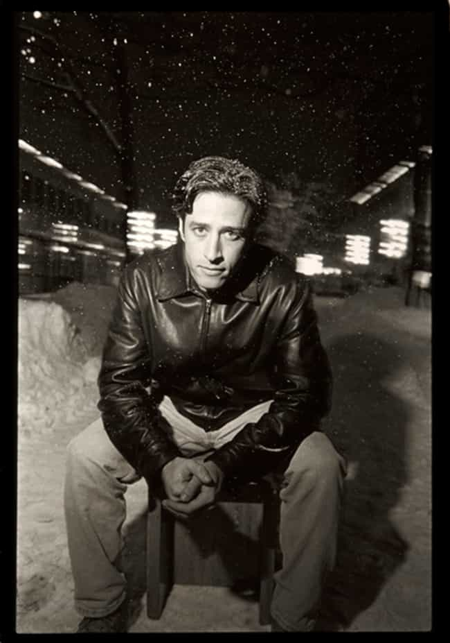 Jon Stewart in Wind Breaker Ja... is listed (or ranked) 2 on the list Hot Jon Stewart Photos