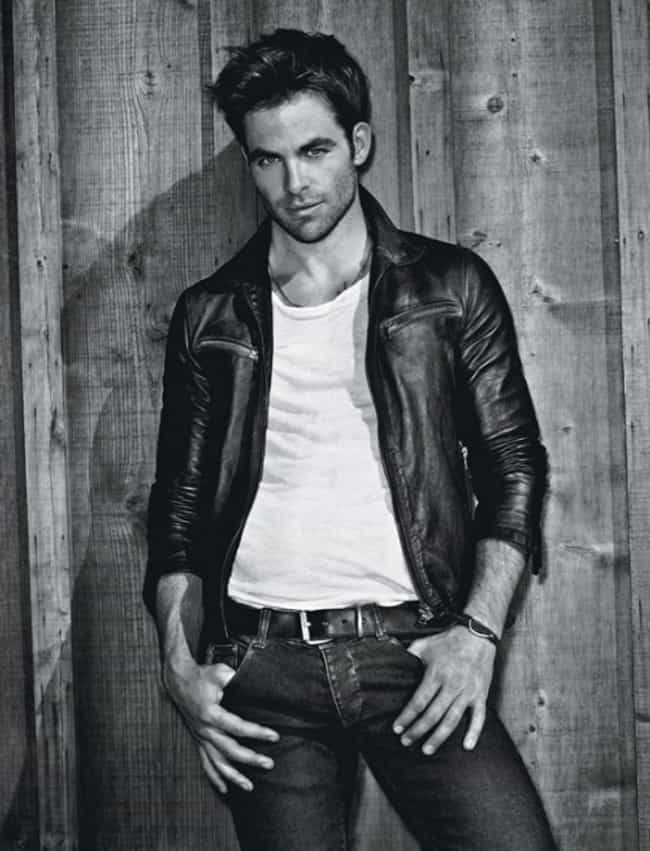 Chris Pine in Original Leather... is listed (or ranked) 3 on the list Hot Chris Pine Photos