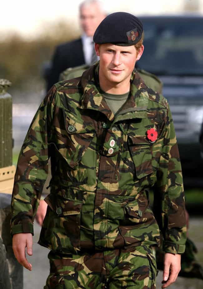 Prince Harry in Camouflage Mil... is listed (or ranked) 4 on the list Hot Prince Harry Photos