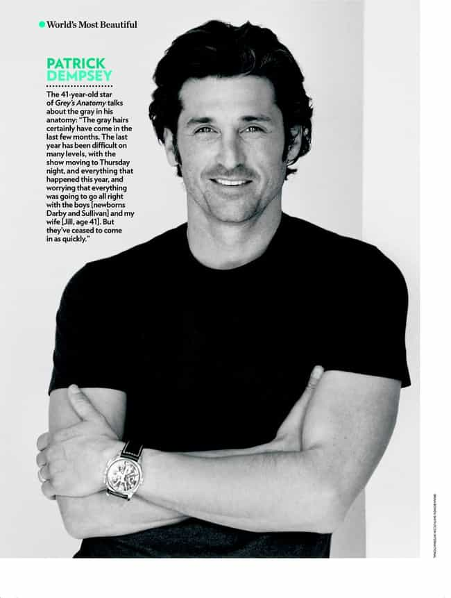 Hot Patrick Dempsey Photos