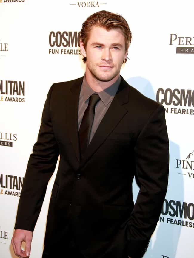 Chris Hemsworth in Double Butt... is listed (or ranked) 2 on the list Hot Chris Hemsworth Photos