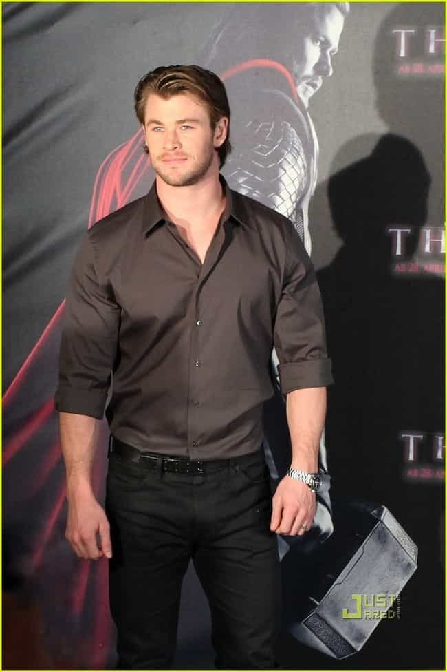 Chris Hemsworth in French Conn... is listed (or ranked) 4 on the list Hot Chris Hemsworth Photos