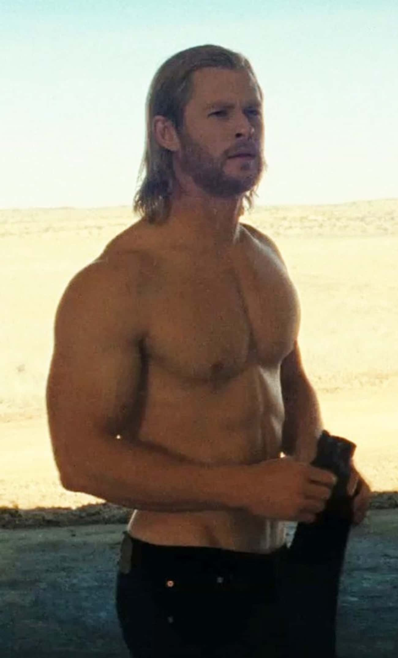 Chris Hemsworth in Shirtless w is listed (or ranked) 1 on the list Hot Chris Hemsworth Photos