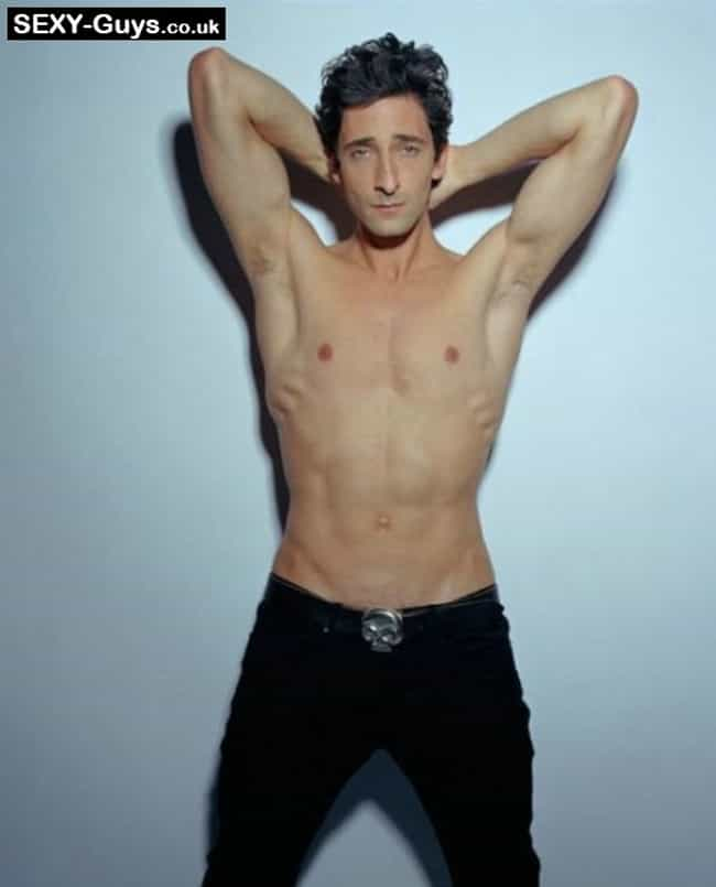 Adrien Brody in Shirtless with... is listed (or ranked) 4 on the list Hot Adrien Brody Photos