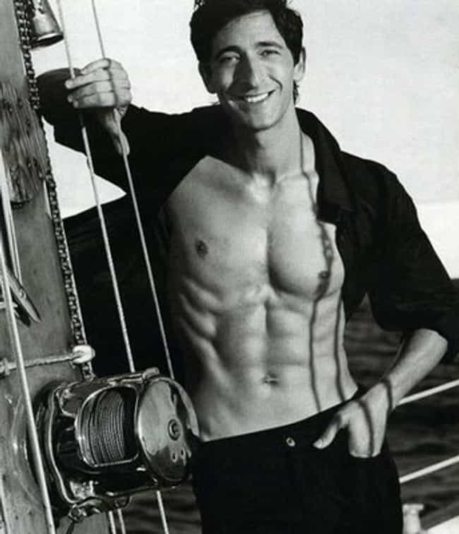 Adrien Brody in Black Open Lon... is listed (or ranked) 3 on the list Hot Adrien Brody Photos