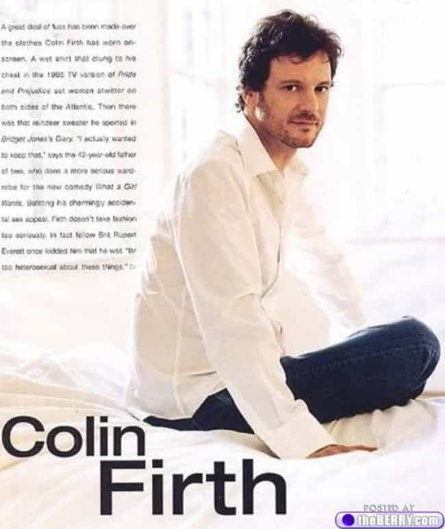 Colin Firth in Cotton Butter L... is listed (or ranked) 1 on the list Hot Colin Firth Photos