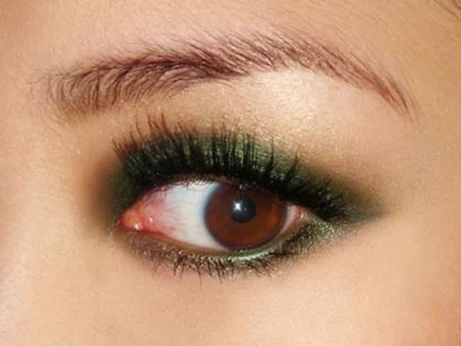 Green is listed (or ranked) 2 on the list The Best Eyeshadow For Brown Eyes