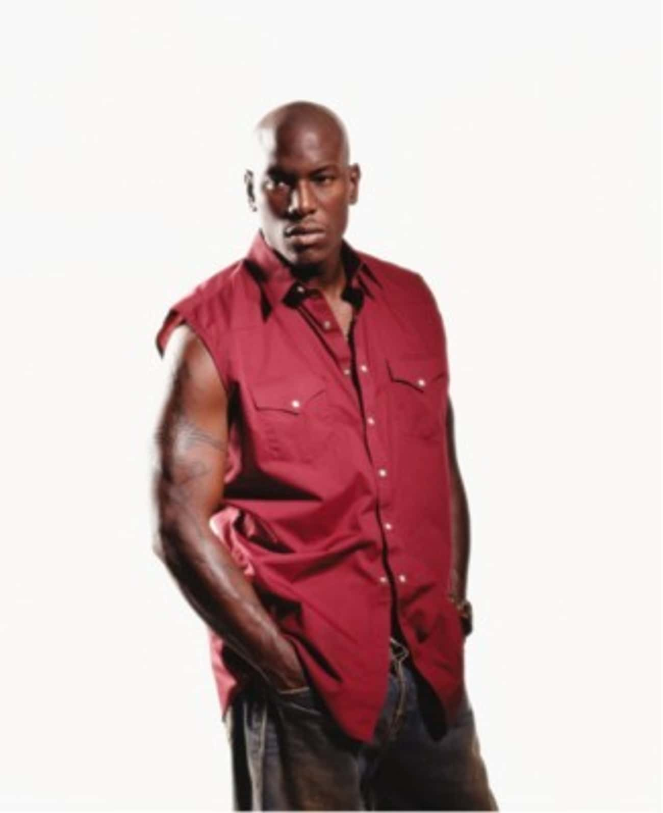 Tyrese Gibson in Sleeveless Po is listed (or ranked) 4 on the list Hot Tyrese Gibson Photos