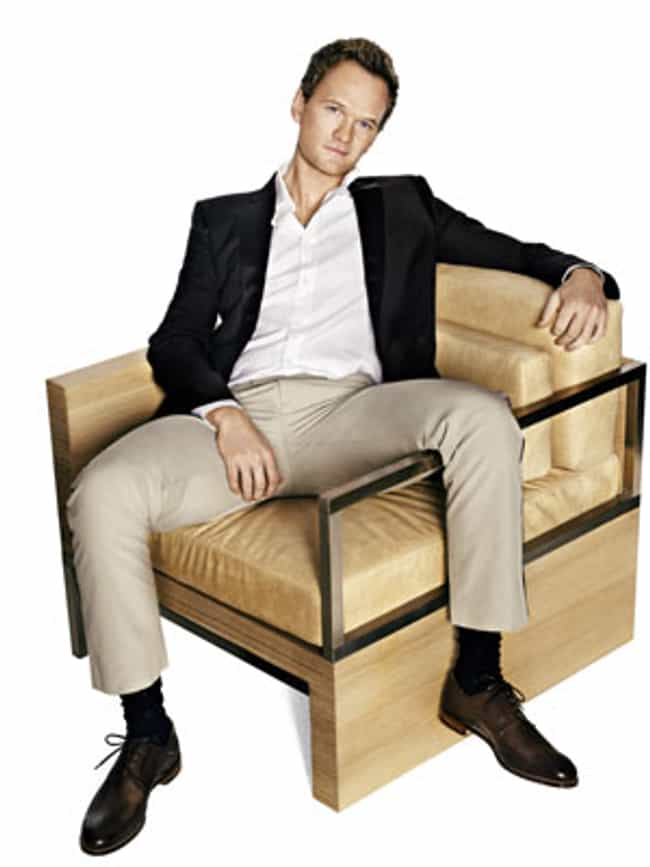 Neil Patrick Harris in Shawl C... is listed (or ranked) 2 on the list Hot Neil Patrick Harris Photos