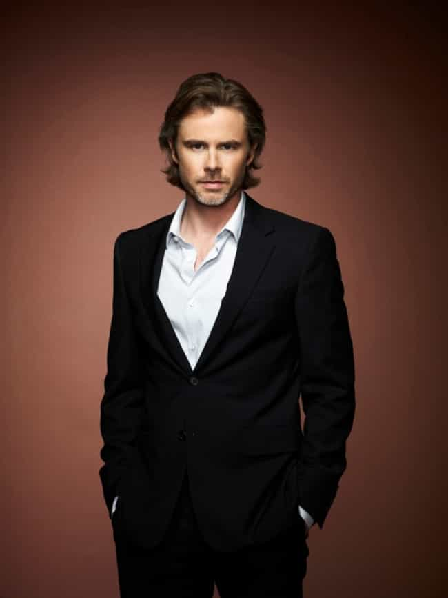 Sam Trammell in Black Slim Sui... is listed (or ranked) 3 on the list Hot Sam Trammell Photos