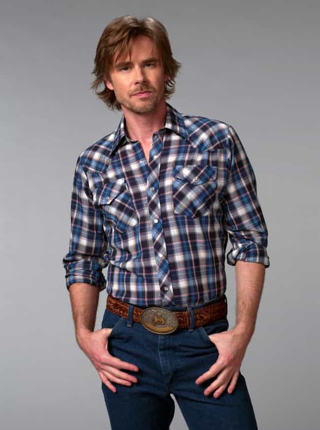 Sam Trammell in Checkered Long... is listed (or ranked) 4 on the list Hot Sam Trammell Photos